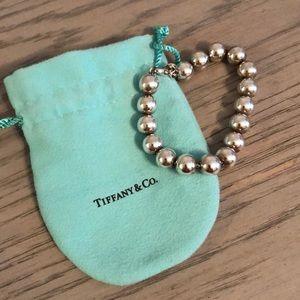 Tiffany & Co. Sterling Silver Bead Bracelet
